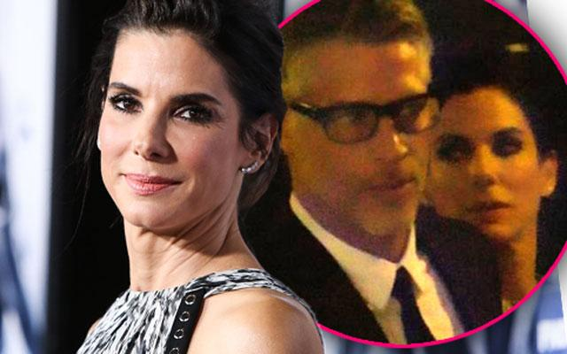 //sandra bullock with boyfriend bryan randall photos together film premier pp