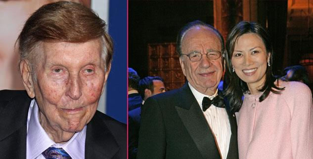 Sumner Redstone Hired Private Eye To Dig Up Dirt On Rupert Murdoch