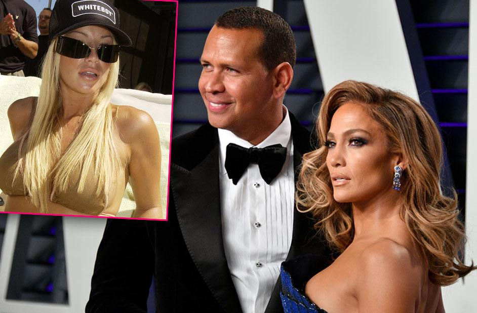 Playboy Playmate Claims Alex Rodriguez Begged For Sex & Threesome Before Jennifer Lopez Engagement
