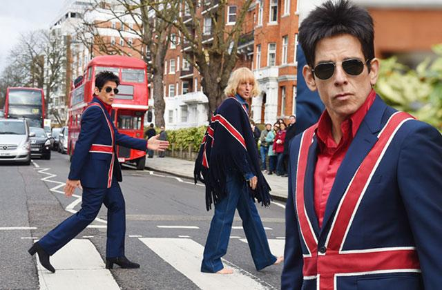 //zoolander  ben stiller owen wilson beatles abbey road pp