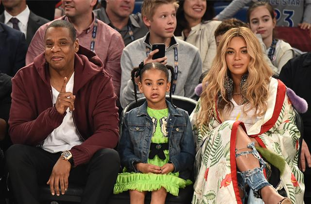 //blue ivy helps beyonce and jay z with new twins pp