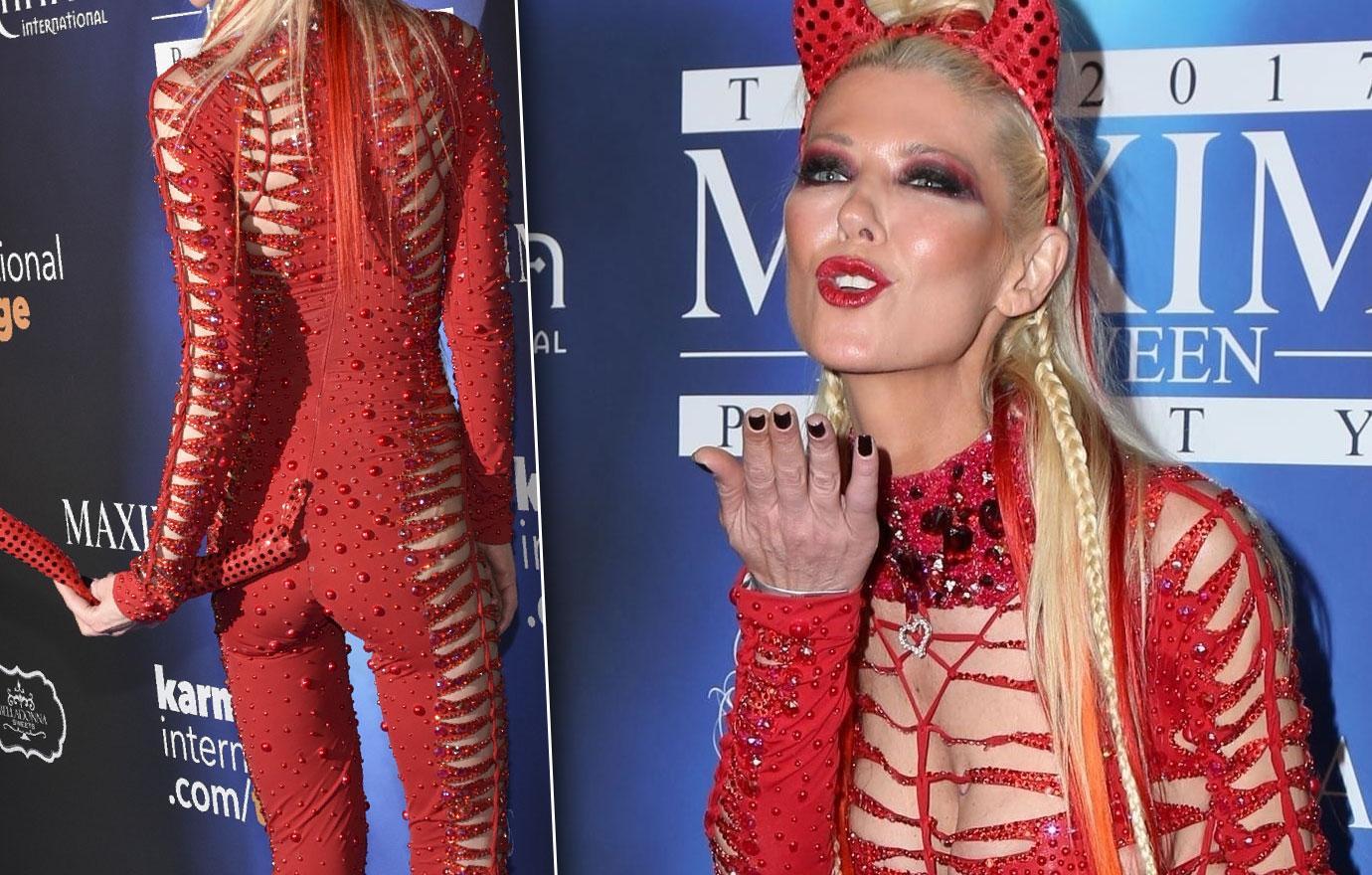 Tara Reid Scary Skinny At Maxim Halloween Party