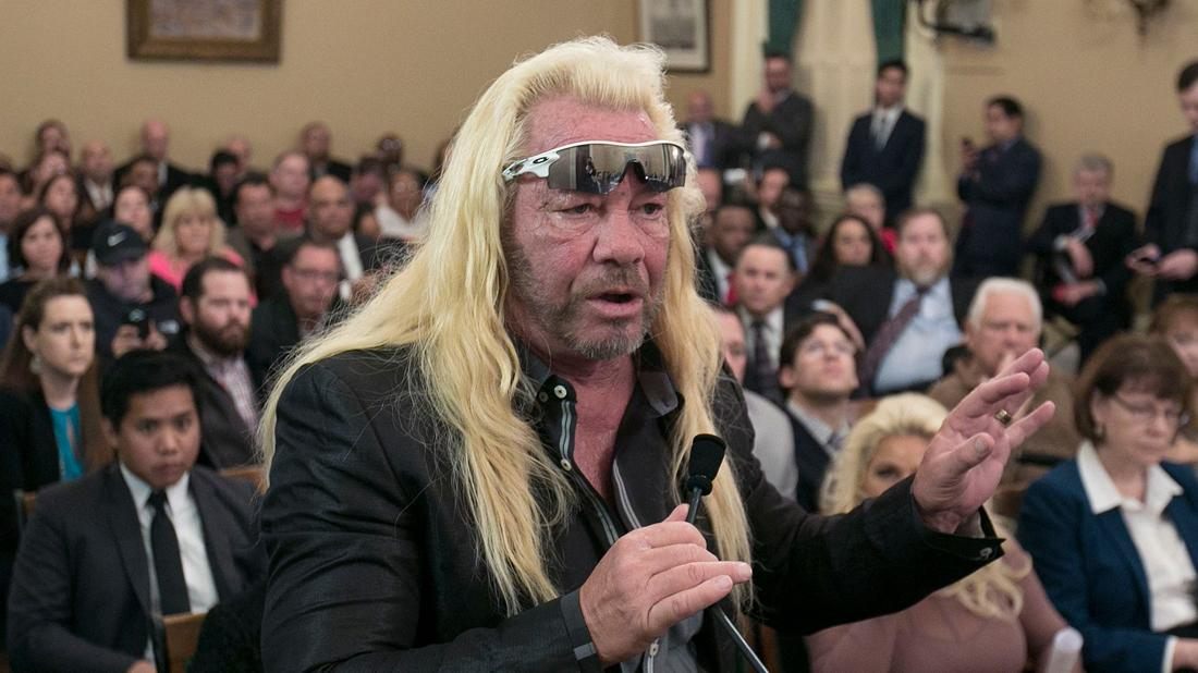 Duane Chapman hospitalized for heart problems on September 16th, 2019.
