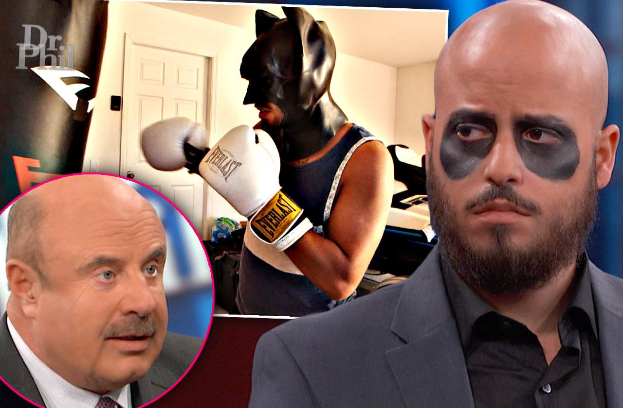 Dr Phil Talks With Army Vet Who Insists He's Batman