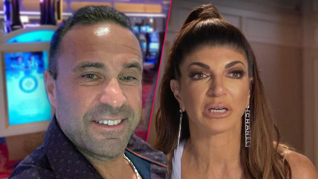 Joe Giudice Posts Bizarre Valentine's Day Song, Talks Changing Old Habits