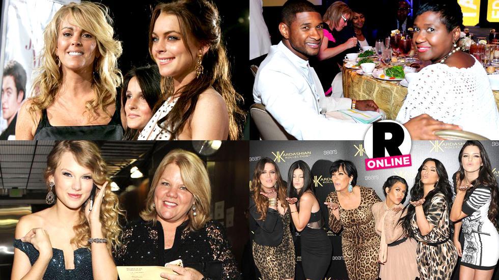 Kris Jenner Dina Lohan Hollywood Momagers