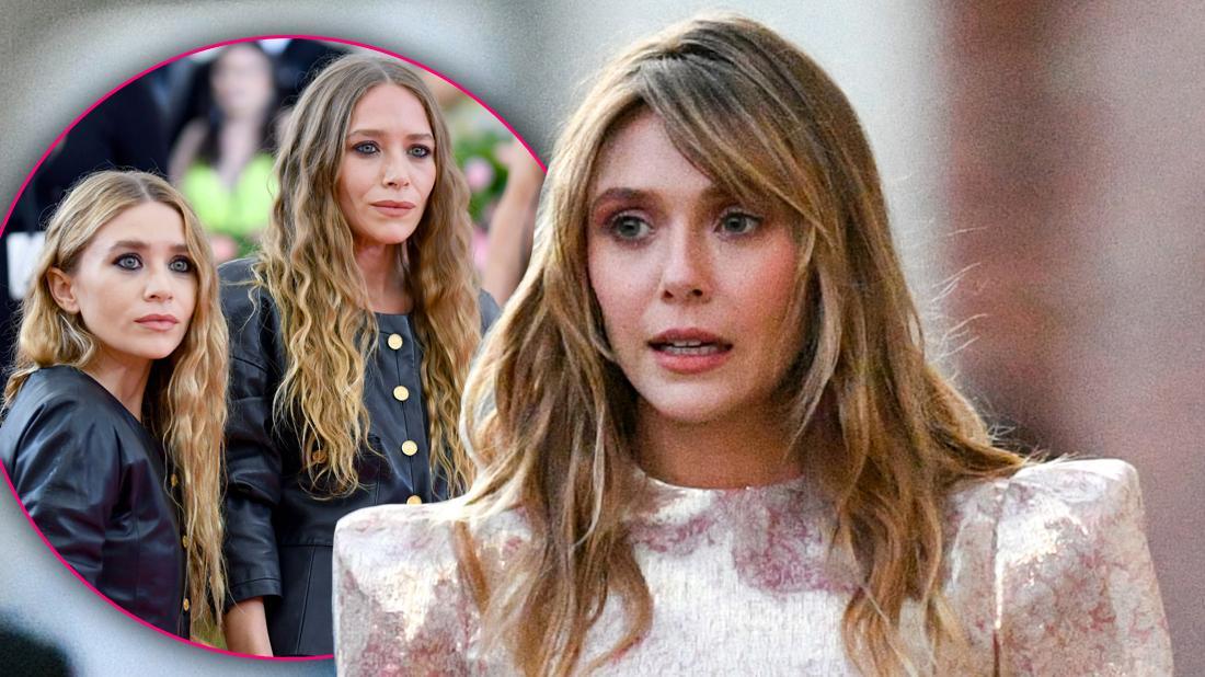 Elizabeth Olsen Growing Apart From Ashley & Mary-Kate Olsen