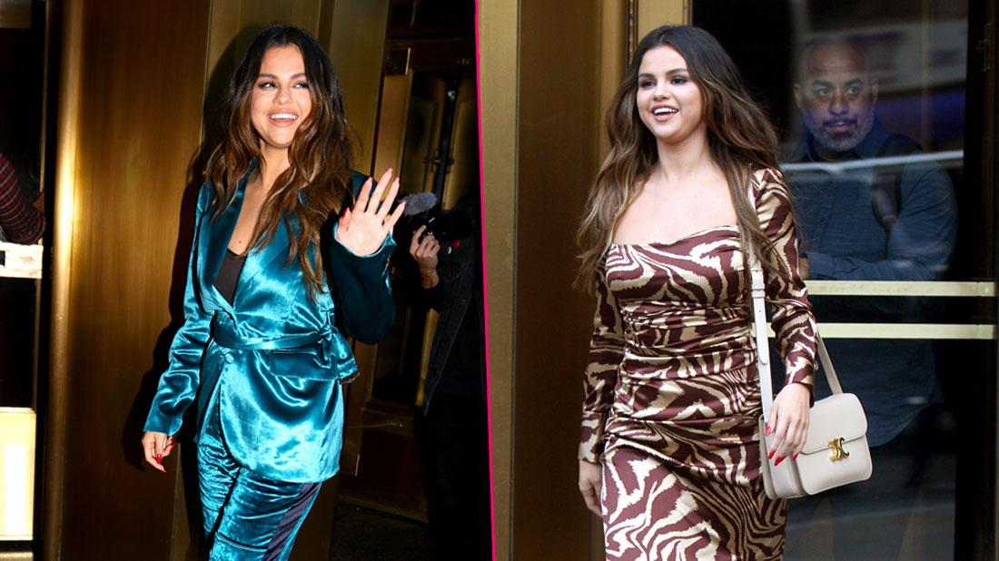 Diva Selena! Gomez Makes Three Outfit Changes In One Day Amid Revenge Music Release