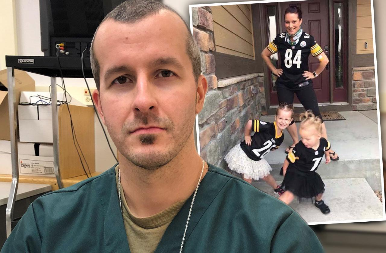 chris watts new prison photos shocking confession interview colorado dad killer