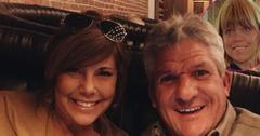 Caryn Chandler and Matt roloff take a selfie. Inset upper left corner, Amy Roloff takes a selfie.