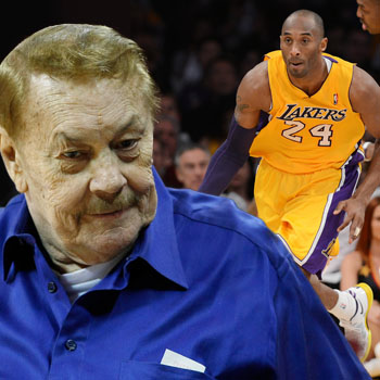 //jerry buss death bed lakers getty