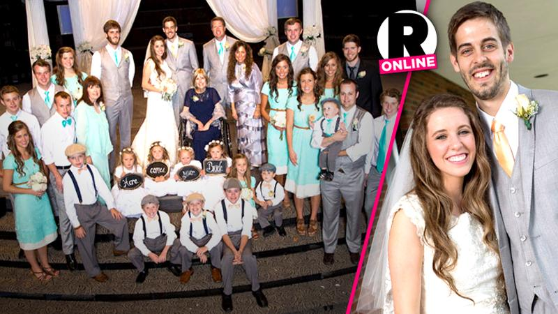//a duggar wedding unveiled in an all new season of  kids counting pp sl