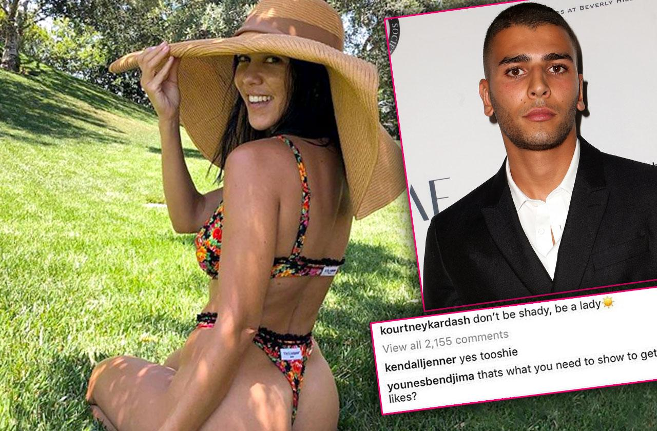 //Kourtney Kardashian Boyfriend Younes Bendjima Not Breaking Up pp