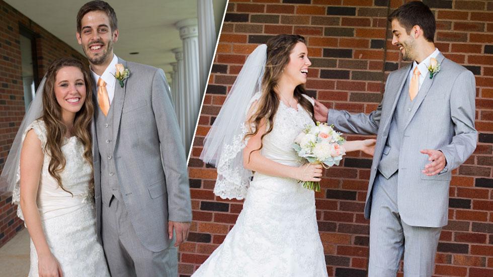 //jill duggar derick dillard new wedding photos