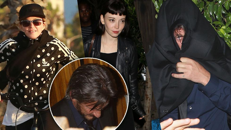 Sean Penn Mystery Woman Dinner