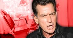 //charlie sheen stabs dentist