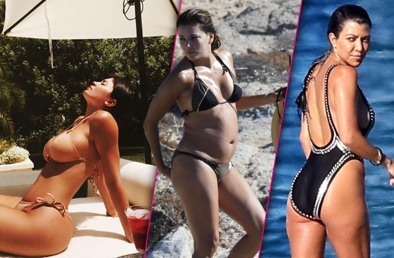//best worst beach bodies  bikini heidi klum hilary duff kardashian pp