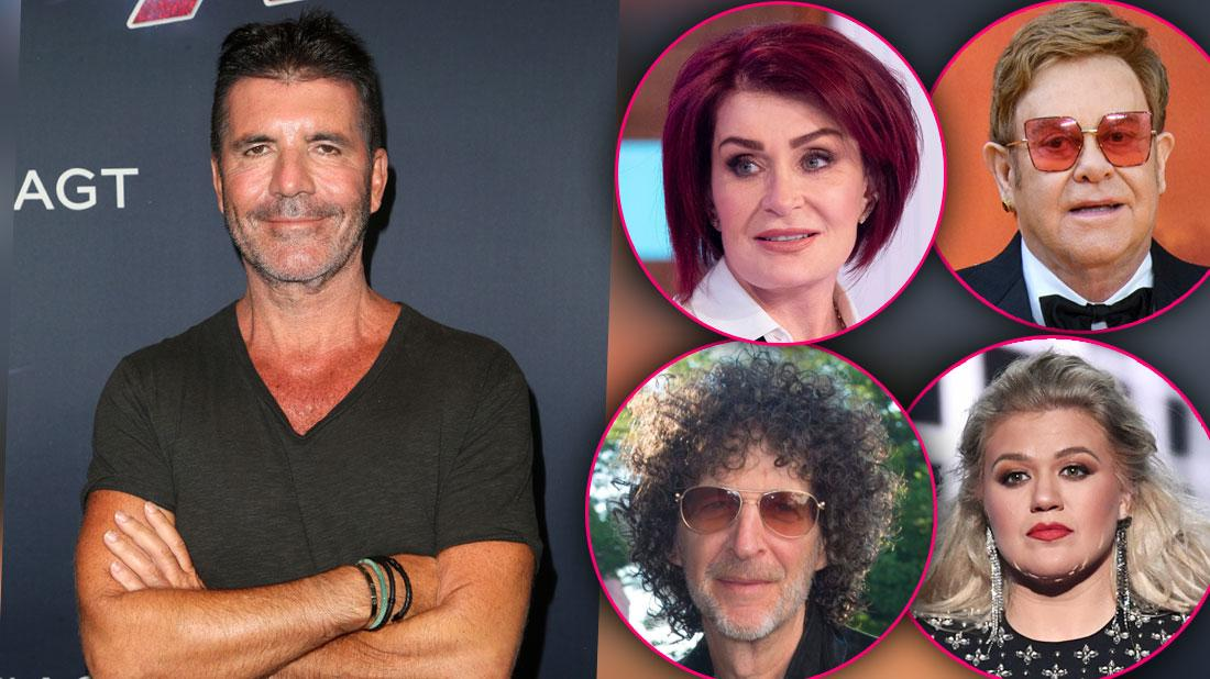 Simon Cowell's Biggest Feuds Exposed On His 60th Birthday