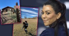 Kourtney Kardashian Takes Kids To Wyoming After She Quits KUWTK