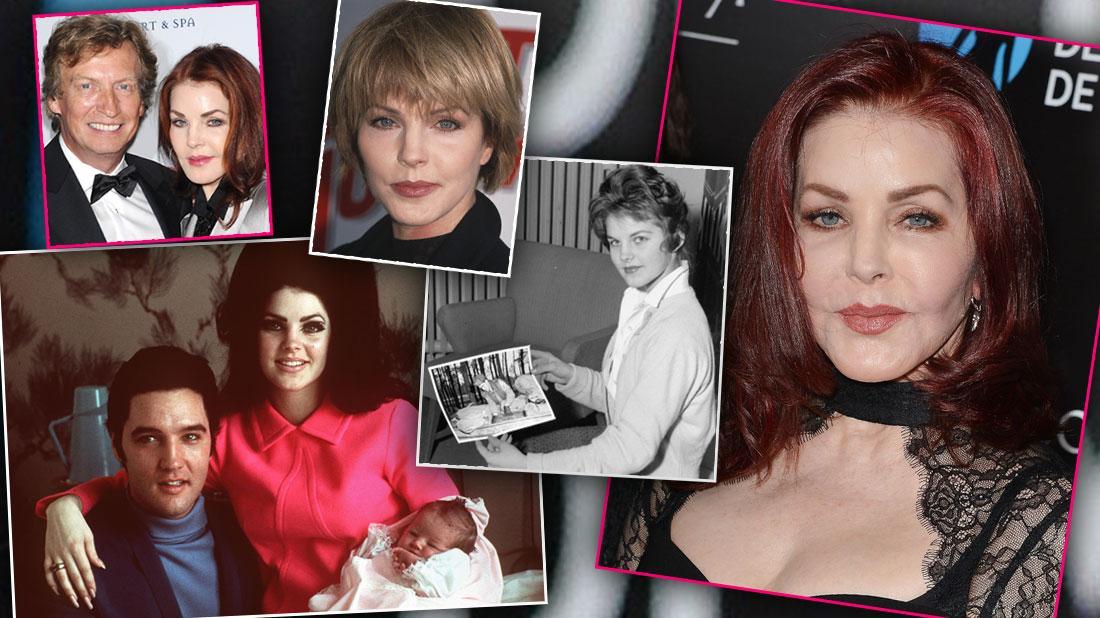 Divorce, Scientology & Plastic Surgery! See Priscilla Presley's Secrets & Scandals