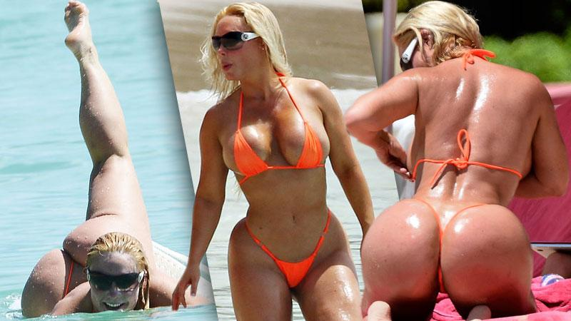//coco austin at the beach with ice t