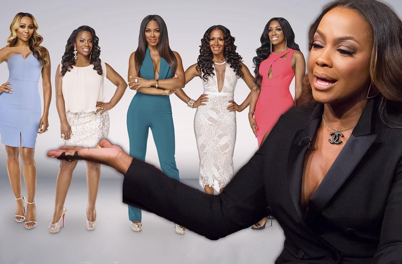 Phaedra Parks Fired! 'RHOA' Ladies Fear Who Is Next!