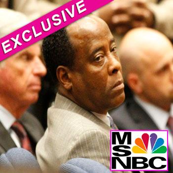 //conrad murray paid k documentary splash