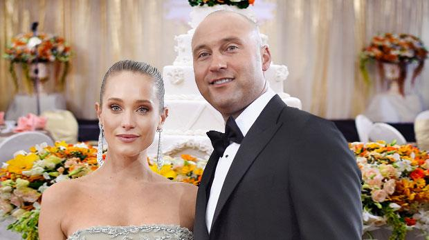 Hannah davis Derek jeter married napa California wedding
