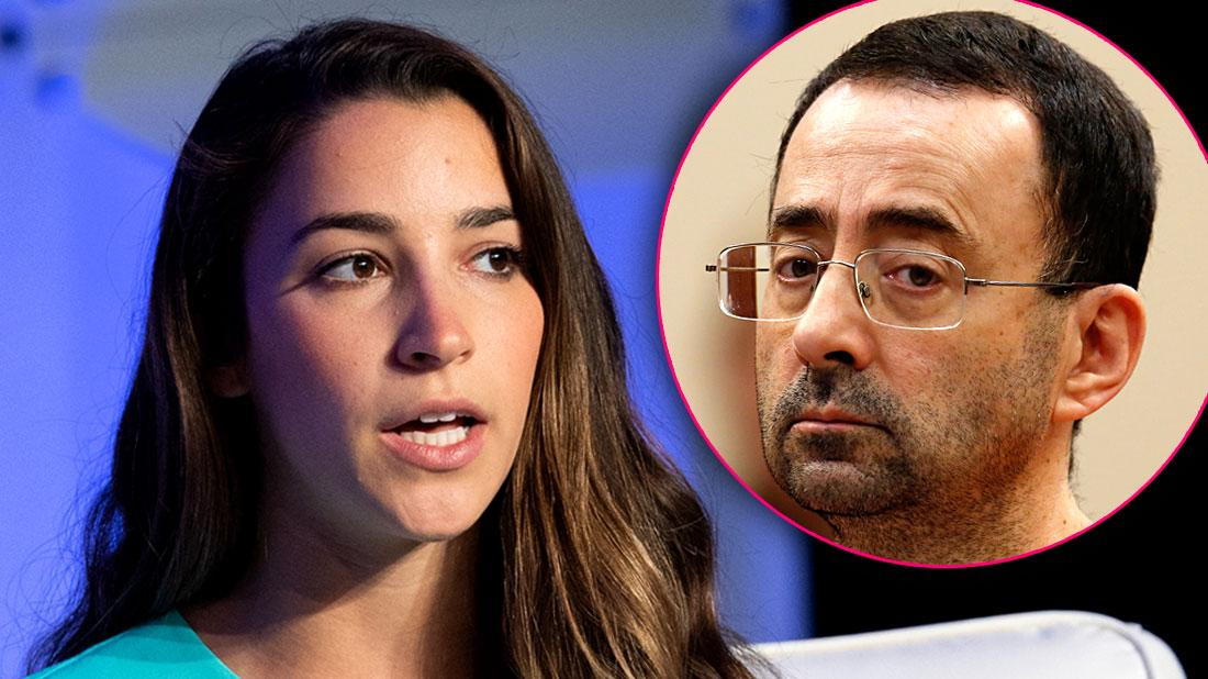 Court Loss: Aly Raisman's Deposition Of Larry Nassar Temporarily Terminated