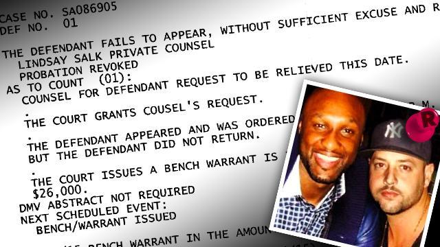 Lamar Odom BFF Suspected Heroin Overdose Warrant Death