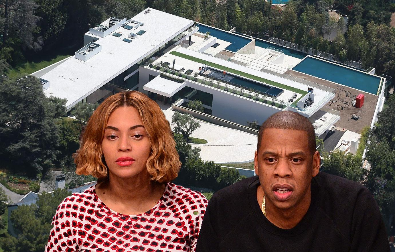 Beyonce And Jay Z Make Bel Air Home A Fortress