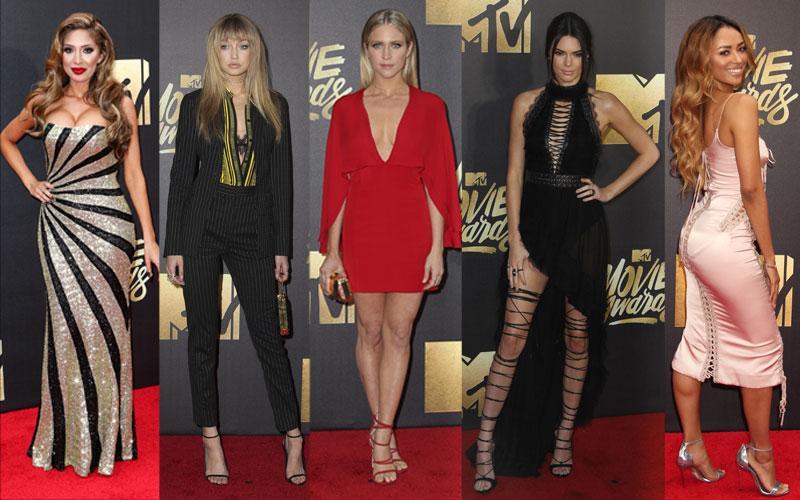 MTV Movie Awards Celebrity Red Carpet Arrivals
