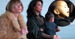 Anna Wintour Industry Insiders North West