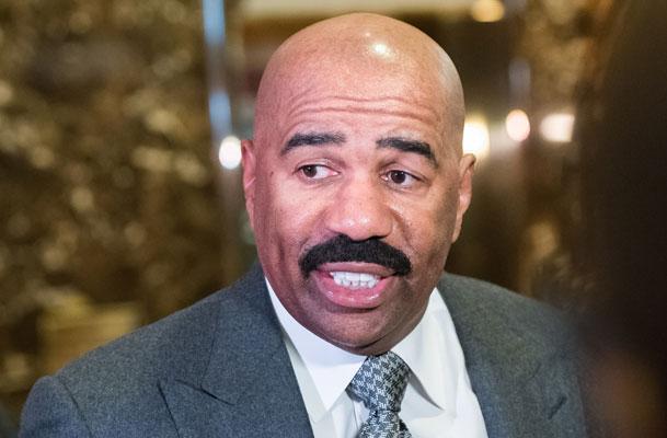 //Steve harvey racist rant trial attendance pp