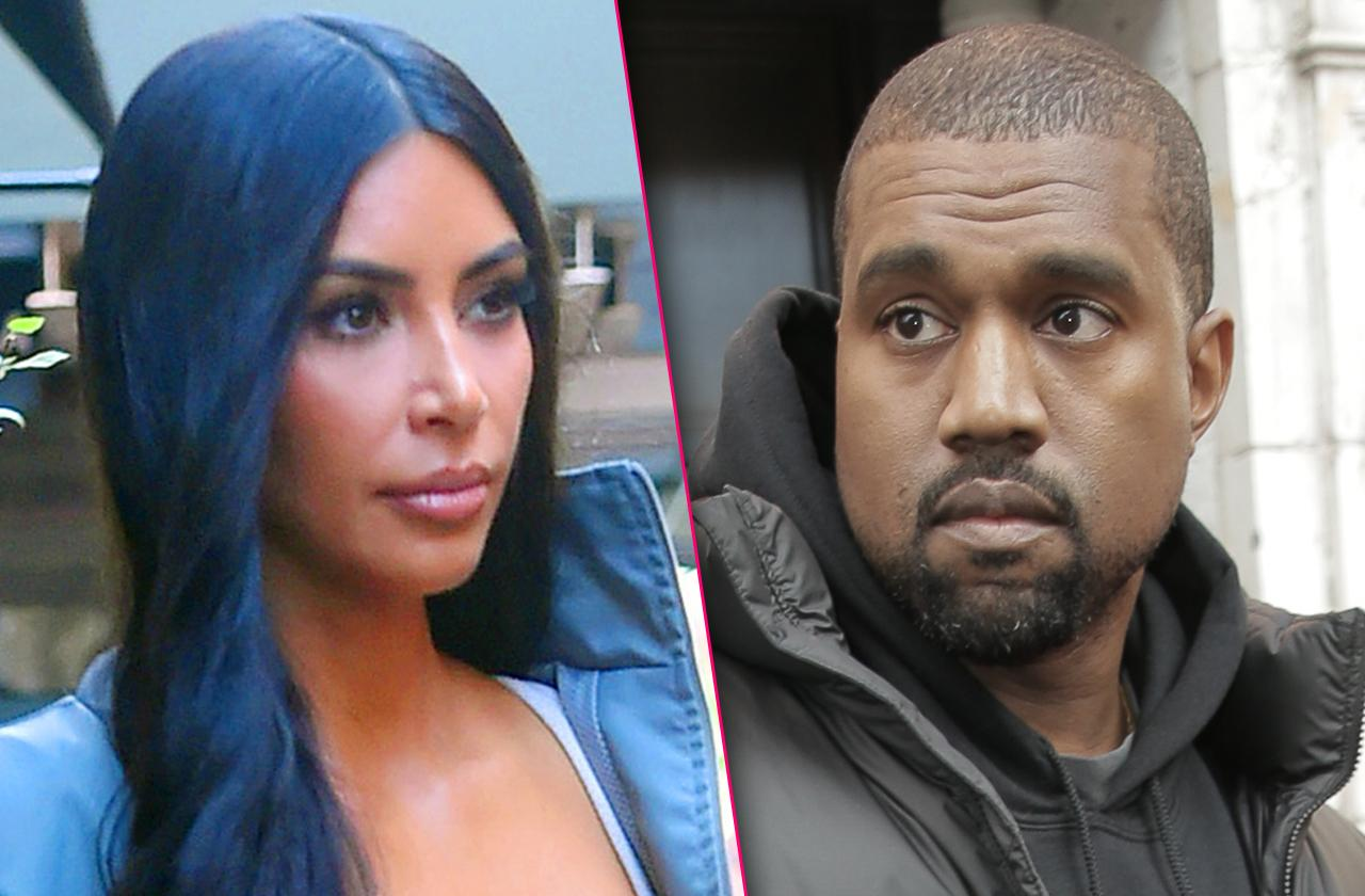 Kim Kardashian Hiding Fears Kanye West