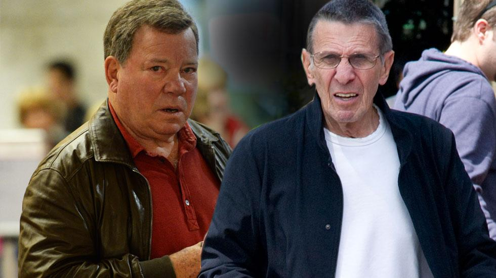 Leonard Nimoy William Shatner