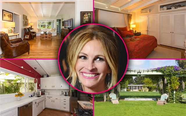 Julia Roberts Buys New Malibu House