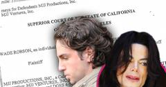 Michael Jackson Child Rape Case Alleged Victim Wade Robson At Risk Of Suicide Lawyers Claim In Court Documents