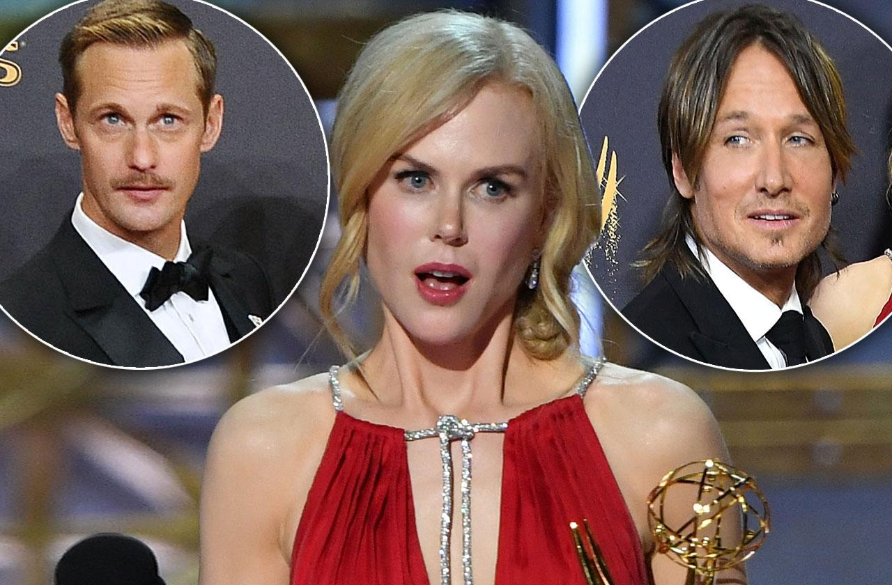 Nicole Kidman Explains Alexander Skarsgard Kiss