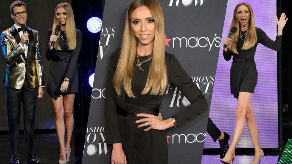 Giuliana Rancic Scary Skinny Dress Macys Front Row Party