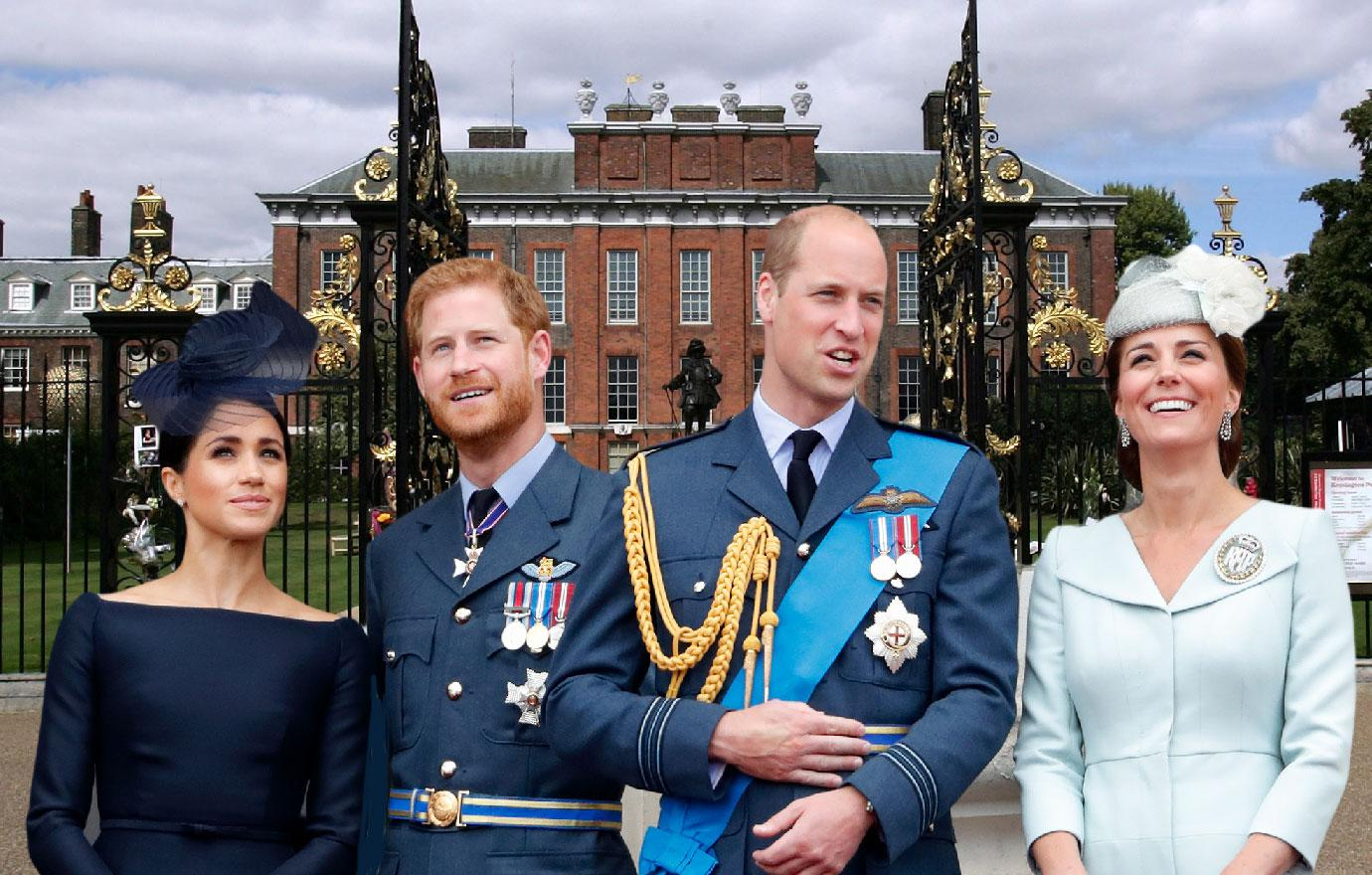 //prince william and prince harry plan to split kensington palace pp