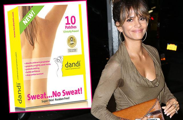 halle berry inspired dandi patch sweat pads
