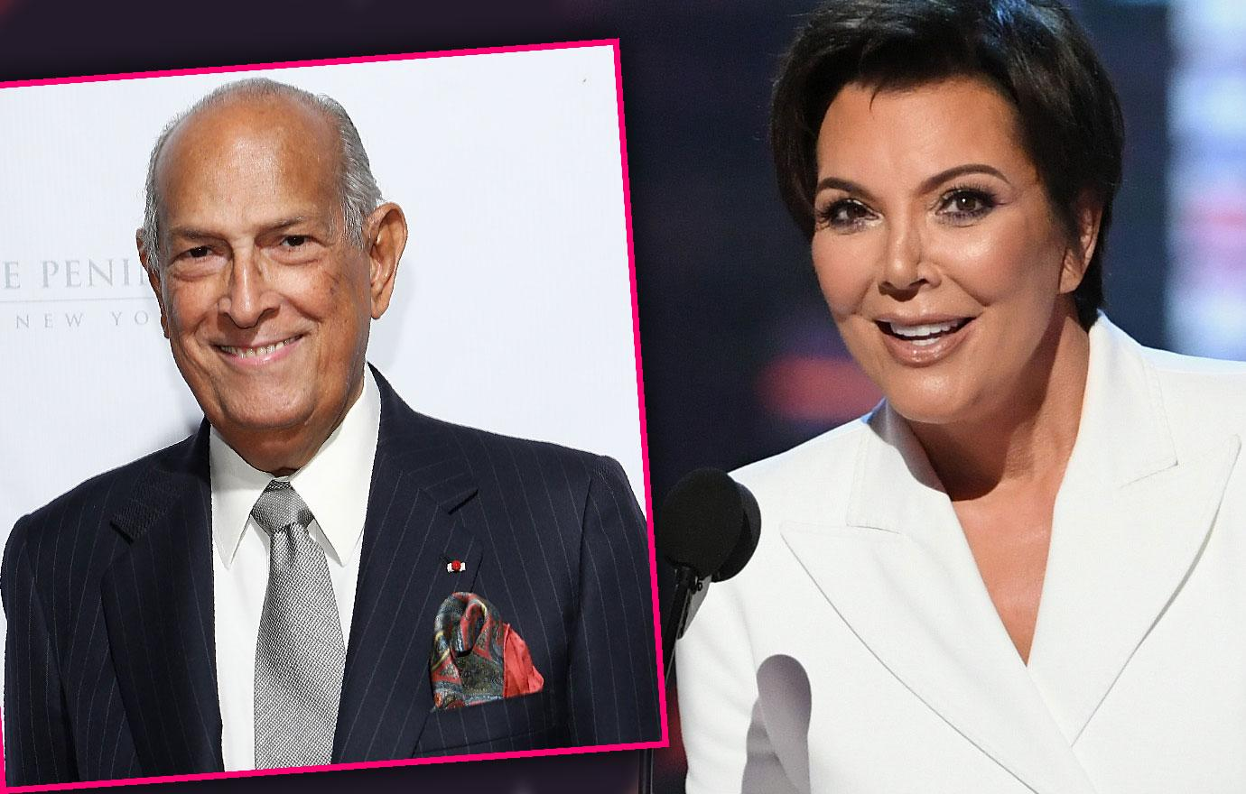Kris Jenner Thanks Dead Designer Oscar De La Renta
