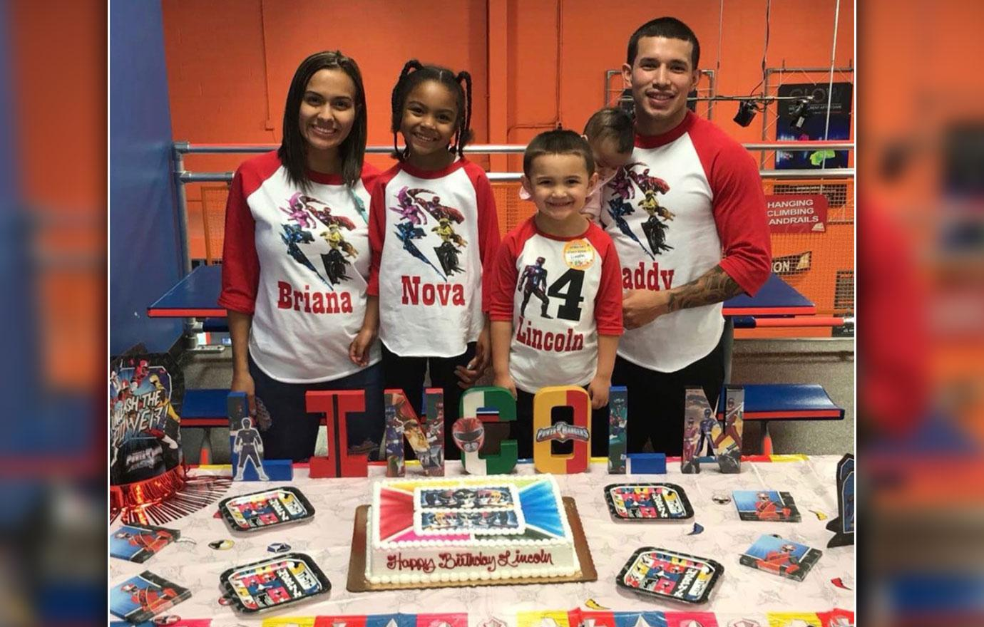 Briana DeJesus Poses With Javi Marroquin Son With Kailyn Lowry