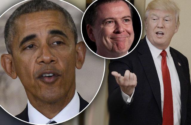 President Donald Trump Surveillance Evidence Scandal Obama James Comey