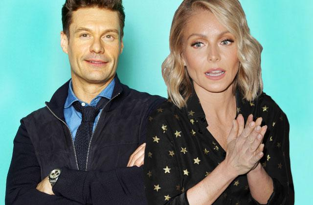 Ryan Seacrest Forced To Choose Between L.A. and Kelly Ripa.
