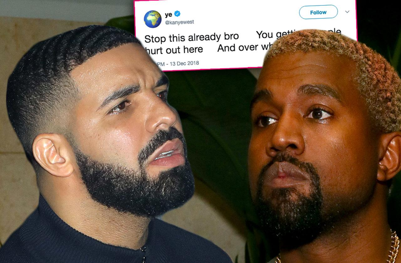 Kanye West Fight Drake Baby Mental Issues