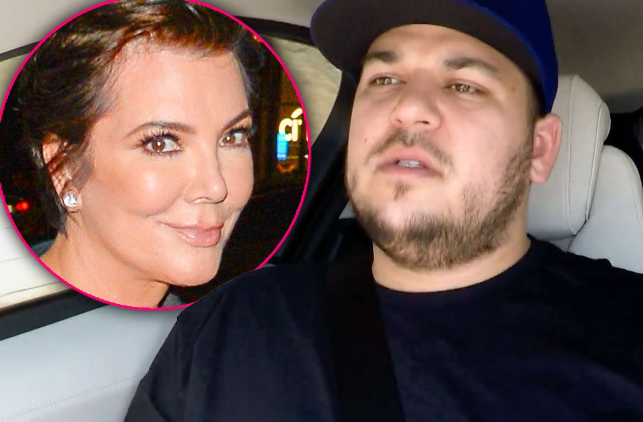 //Rob Kardashian Broke Returning KUWTK pp