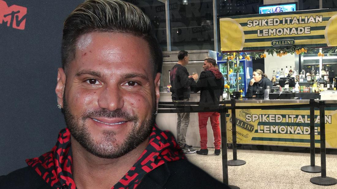 Jersey Shore's Ronnie Ortiz-Magro Drinking At VMAs After Rehab