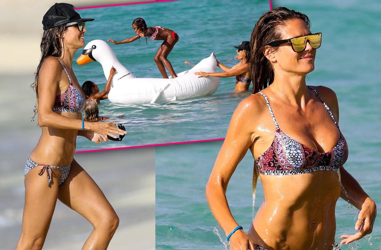 Heidi Kum bikini beach body pics